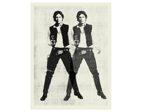 Han Solo Star Wars Poster